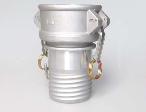 Composite hose coupling